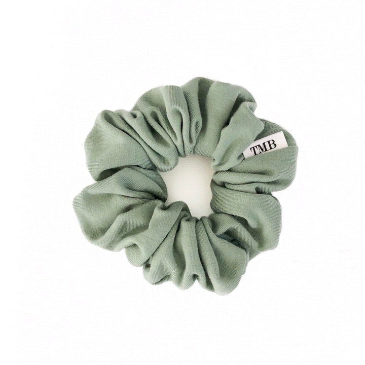 Adult Sage Green Scrunchie