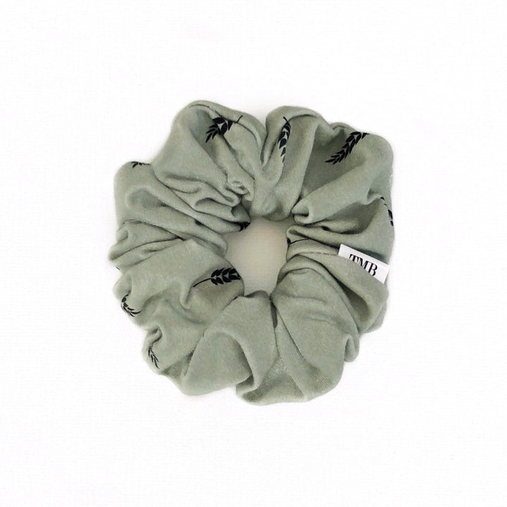 Adult Wheat Leaf Scrunchie