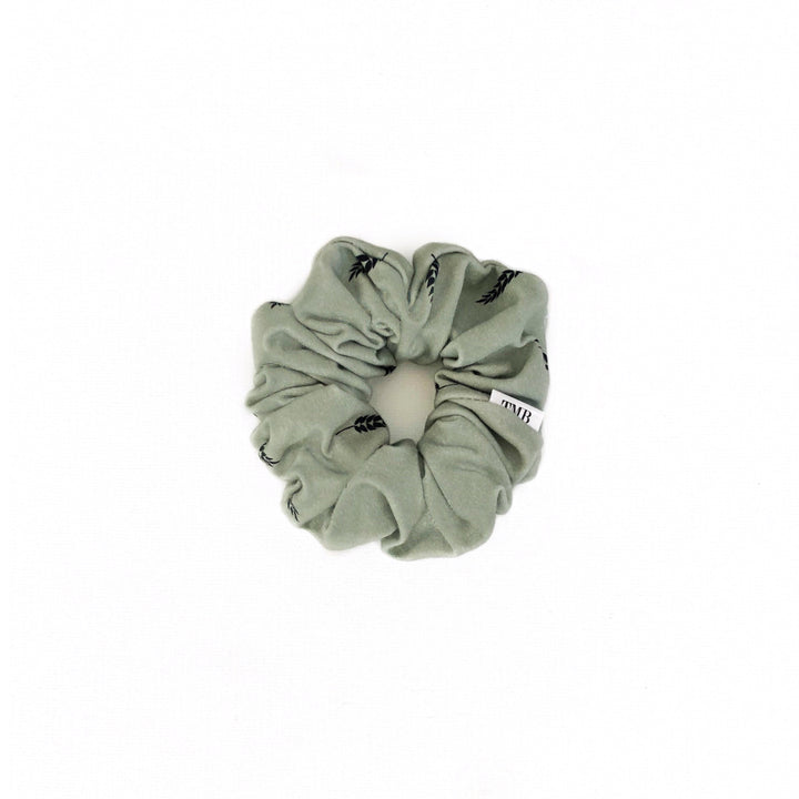 Child Wheat Leaf Scrunchie