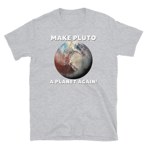 "Shirt ""Make Pluto a Planet again!"""