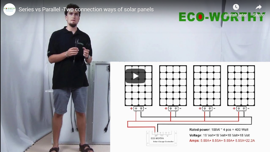 How to Connect Solar Panels In Series vs Parallel