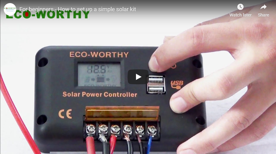 How to Set-Up the PWM Solar Charge Controller?