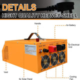 All-in-one Inverter Built in 3000W 24V Pure Sine Wave Power Inverter and 30A Controller For Off-Grid System - ECO-WORTHY