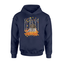 Load image into Gallery viewer, Fall German Shorthaired Pointer hoodie shirt - IPH446