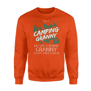 Camping Granny Shirt and Hoodie - SPH6
