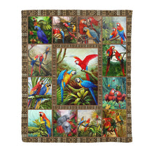 Load image into Gallery viewer, Parrot Fleece Blanket