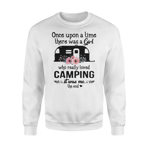Camping story Shirt and Hoodie  - QTS66