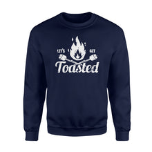 Load image into Gallery viewer, Let's get toasted Shirt and Hoodie- QTS108