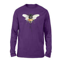 Load image into Gallery viewer, Let it bee animal Long sleeve shirt - SPH70