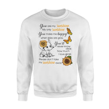 Load image into Gallery viewer, Cute baby Elephant You are my sunshine sweatshirt - IPH289