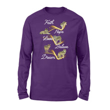 Load image into Gallery viewer, Faith, Hope, Love Dream Wolf Shirt and Hoodie - IPH462
