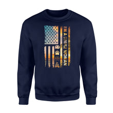 Load image into Gallery viewer, I'm a simple woman American flag camping symbols camping shirt - QTS100