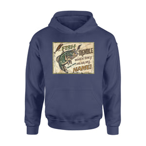 Fish tremble personalized - Standard Hoodie