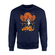 Load image into Gallery viewer, Fall season Bernese Mountain Dog sweatshirt - IPH473