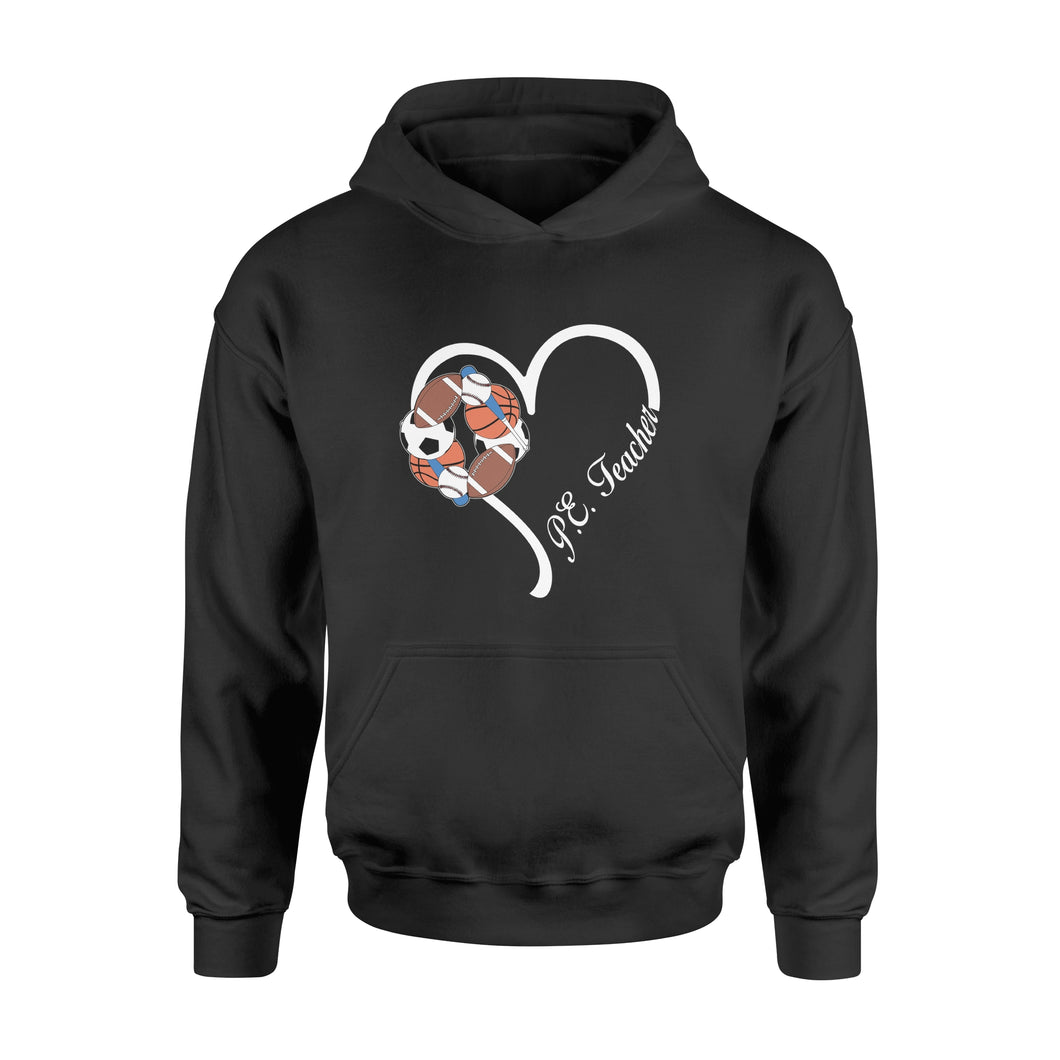 Love PE teacher Shirt and Hoodie - QTS64