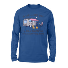 Load image into Gallery viewer, Camping with dog Shirt and Hoodie - QTS60