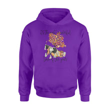 Load image into Gallery viewer, Fall season Gypsy Vanner hoodie shirt design - IPH706