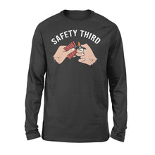 Load image into Gallery viewer, Safety third oversize Standard Long Sleeve