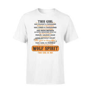 Girl With Wolf Spirit Shirt and Hoodie  - IPH324