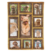 Load image into Gallery viewer, 3D Toy Poodle Dog Throw Fleece Blanket - 3DTH164