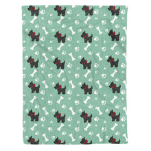 Load image into Gallery viewer, Scottish Terrier Fleece Blanket