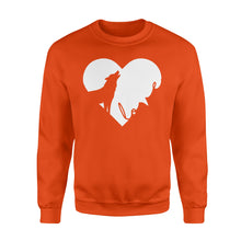 Load image into Gallery viewer, Love Wolf Shirt and Hoodie - IPH391