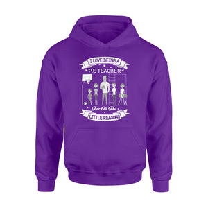 I love being a PE teacher Shirt and Hoodie - QTS111