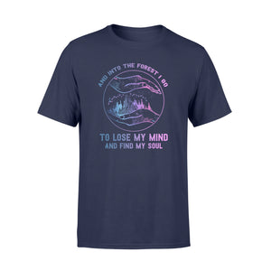 Hippie Into the forest I go Shirt and Hoodie - SPH37