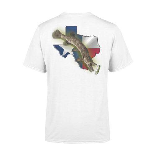 Alligator gar season Texas alligator gar fishing - Standard T-shirt