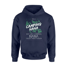 Load image into Gallery viewer, Camping Nana Shirt and Hoodie - SPH5