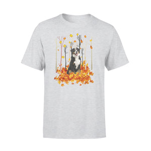 Cute Bernese Mountain dog fall season T Shirts gift ideas for dog lovers - IPH444