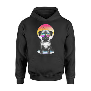 Pug dog Shirt and Hoodie - QTS22