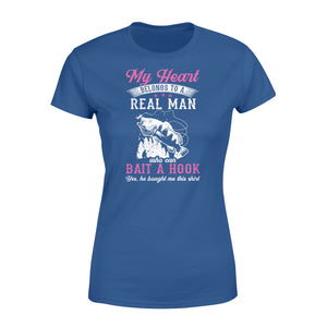 Real man who can bait a hook Fishing Shirt and Hoodie - SPH42
