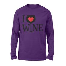 Load image into Gallery viewer, I love wine Shirt and Hoodie - QTS202
