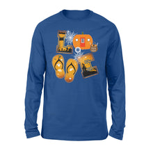 Load image into Gallery viewer, Camping Halloween Shirt and Hoodie - QTS75