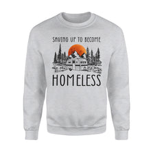 Load image into Gallery viewer, Homeless camping Shirt and Hoodie - QTS98