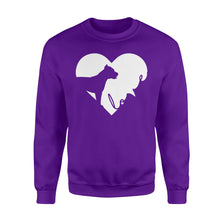 Load image into Gallery viewer, Love Pitbull print sweatshirt design - IPH390