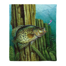Load image into Gallery viewer, Crappie one Fleece Blanket