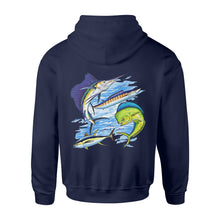 Load image into Gallery viewer, Sea fishing shirt and hoodie