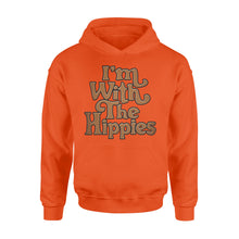 Load image into Gallery viewer, I'm with the hippies Shirt and Hoodie - QTS35