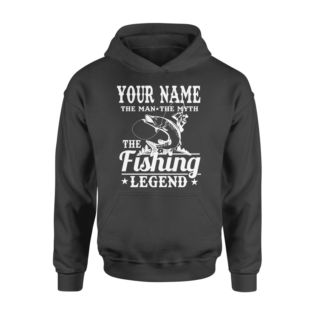 Musky fishing legend customize name - Personalized gift