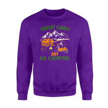 Load image into Gallery viewer, Forget candy, just go camping Shirt and Hoodie -QTS30