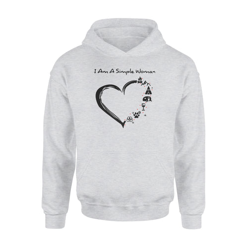 I am a simple woman Shirt and Hoodie - QTS48
