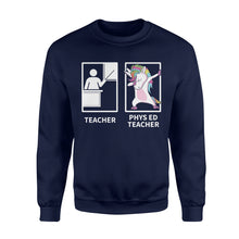 Load image into Gallery viewer, PE unicorn Shirt and Hoodie - QTS56