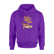 Load image into Gallery viewer, Fall season Clydesdale Horse hoodie shirt design - IPH705