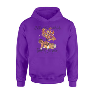 Fall season Clydesdale Horse hoodie shirt design - IPH705