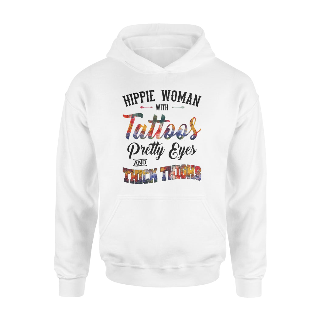 Hippie woman Shirt and Hoodie - SPH50