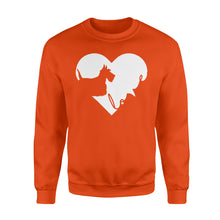 Load image into Gallery viewer, Love Scottish Terrier Shirt and Hoodie - IPH384