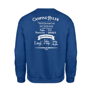 Camping rules Shirt and Hoodie - QTS32