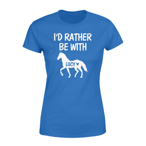 Personalized horse name shirt and hoodie - Standard Women's T-shirt